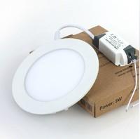 9W LED panel lamp round style SMD2835 Free shipping Hot