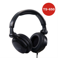 Takstar ts-650 monitor's headphone DJ music headset HI-FI Closed Dynamic Stereo Headphones Recording Audio Monitoring