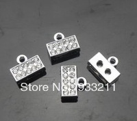 50pcs Connector Charms Can Through 8mm band Fit key chain Phone strips