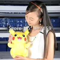 "13"" Pikachu New Pokemon Soft Stuffed Animal Plush Toys Smilling"