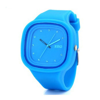 Free shipping 2013 bestseller Zgo fashion jelly watches imported silica quartz watch silicone watch wholesale