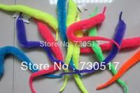 10pcs/lot Plush Mr.Fuzzy Magic Wiggle Worm Twisty Worm Stuffed Animals Toy For Kids Wholesale KF363