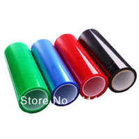 Free shipping Color Car Smoke Fog Light HeadLight Taillight Tint Vinyl Film 30*120cm Car Stickers 12 colors