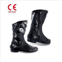 Scoyco e-sbr220 boots motorcycle boots automobile race boots genuine leather long boots