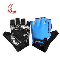 Free shipping! Free shipping! Moon male Women ride gloves semi-finger mountain bike gloves summer ride