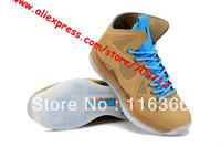 2014 Fashion and colorful Famous athletes LEBRON 10 Basketball Shoes men's Air Sports shoes casual shoes running shoes size41-47