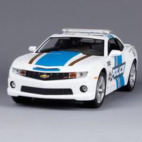 Alloy car model CHEVROLET bumblebee police car