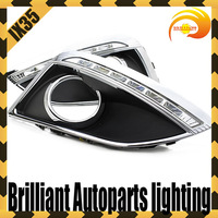 CAR-Specific Europe Type HYUNDAI IX35 2011 LED DRL,Daytime Running Light + Free Shipping