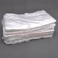 Free shipping 1000 pcs Disposable home hotel supplies white transparent garbage plastic bags