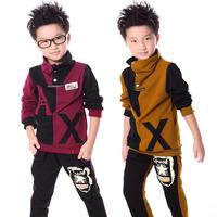 Children's clothing 2013 autumn male child children's child clothing autumn child casual sportswear set