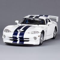 Alloy car model dodge viper gt2 roadster