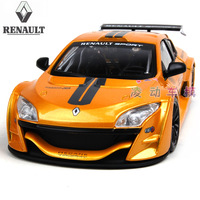 Alloy car model megane renault megane trophy automobile race