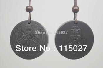 free shipping 20pcs/lot 2013 New Design high negative  ion scalar energy pendant angle  shekinah quantum pendant necklace
