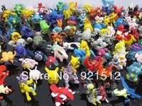 Free shipping Pokeman Pet Elf model toy doll Magic hand-done decoration ornaments 1-5 generations 216pcs/Set