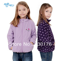 children outerwear children hoodies kids down & parkas coat Kids clothes Baby Minnie thick coat lovely girl coat,1 pcs/lot WX660