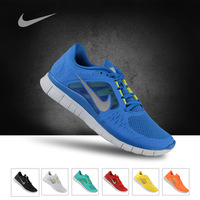 2013 Hot sale Men's free run+3 5.0 running shoes !High quality men's sports shoes,design shoes  Free shipping