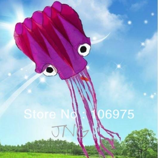 5m enorme polpo volare aquilone parafoil w/maniglia e stringa parco esterno divertimento spiaggia