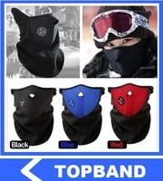 Free Shipping New Neoprene Winter Warm Neck Ski Face Mask Veil Guard Sport Bike Motorcycle Snowboard Bicycle Parts 15pcs/lot