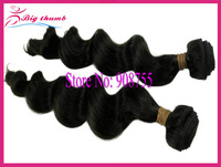 Luffy Hair 4pcs lot Unprocessed Brazilian virgin hair Loose Wave, 5A grade 100% human hair, can color and bleach,