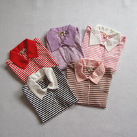 Children's clothing girls clothing polo shirt