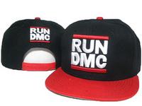 RUN DMC Snapbacks Starter Caps Cheap High Quality Hats Brand Snapback Caps black red cap & hat