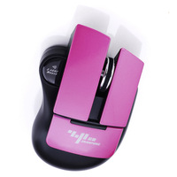 Hot!! Colorful Transformers  2.4Ghz 1200DPI Gaming Wireless Mouse 10M Working ,3 Buttons So cool gift for friends Free Shipping