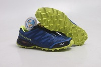 Free Shipping 2013 NEW Arrival Salomon Sport Shoes Running athletic shoes for men/women brand big Size:40-46 hot selling