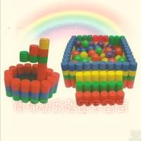 innovative items Large sand multifunctional cylindrical blocks desktop toys child blocks building blocks