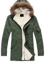 2013 newest army green women size plus XS-L winter casual fur collar,warm thicken cotton Down Parka overcoat,jacket, wholesale