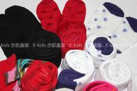 Children's clothing female child 2013 spring 100% comfortable cotton socks pantyhose