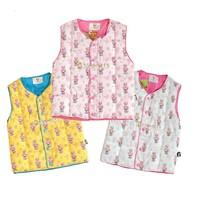 2 2012 autumn and winter cartoon bear cotton down vest female vest child cotton liner