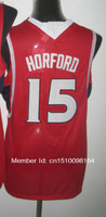 Cheap Sale, 15 Al Horford red Men's  Basketball jerseys free shipping accept mix order