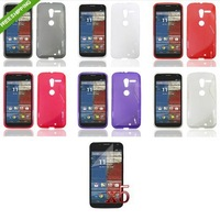 MY14 6X TPU Soft Skin Case Cover+LCD For Motorola Moto X Phone