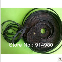 Opening rubber synchronous belt type belt XL width 10 mm, pitch of 5.08
