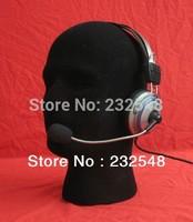 Black Foam Mannequin Head Sale Male Manikin Model Hat Display Head Free Shipping
