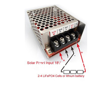 New boutique high with 2-4 LiFePO4 Battery Charger 12V Charger MPPT solar controller