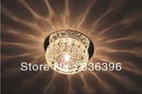 11cm x 6cm New Modern Crystal Warm White LED Ceiling Light Pendant Lamp Fixture Lighting Chandelier