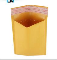 "Bubble Mailers mailing  Padded Envelopes Bags  Kraft paper  packaging bag   4.3""X6.7"" 11cmX17cm 50pcs/lot  free shippment"