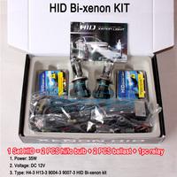 free shipping hid conversion kit Bi-xenon H4-3 DC 12v 35w 3000K 4300K 5000K 6000K 8000K 10000K12000 30000K