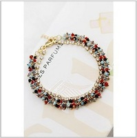 2013 Free Shiping Han Edition Jewelry Fashion Handmade Beaded Bohemian Personality Multilayer Bracelet