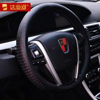Auto genuine leather steering wheel cover 38cm Medium slams four seasons general slams auto supplies