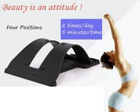 Free shipping 2 in 1 new back spine correct magic stand waist support and protector for body health massage