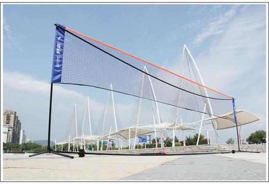 5.18M Professional Portable Badminton Net Post Standard Folding Training Badminton Grid Indoor Fitness Sports Free Shipping(China (Mainland))