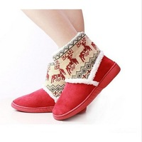 Good quality fashion women's snow boots cooton shoes for winter .deer boot. Free shipping