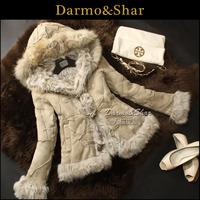 Free shipping Fur short design berber fleece wool fur one piece outerwear fur leather clothing overcoat women's