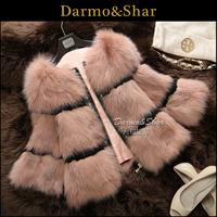 Free shipping Full leather fox fur coat short design women's 2013 fur