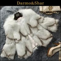 Free shipping Fox fur coat short design women's fox wool fur coat fur 2013