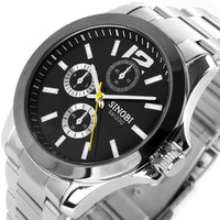 Free shipping Classic sinobi unique personality fashion male  business casual male watch