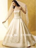 High Quality!  Ivory  Ball Gown Wedding Dresses Wedding Attire Dresses Pageant Dress Custom Made Size 2-10 12-20 JLW923329