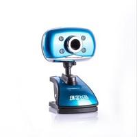 Free shipping Unifly i8 hd webcam blue gem  webcams